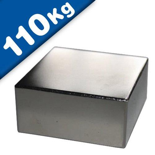 Imán Rectángulo Bloque magnético Neodimio - 50
