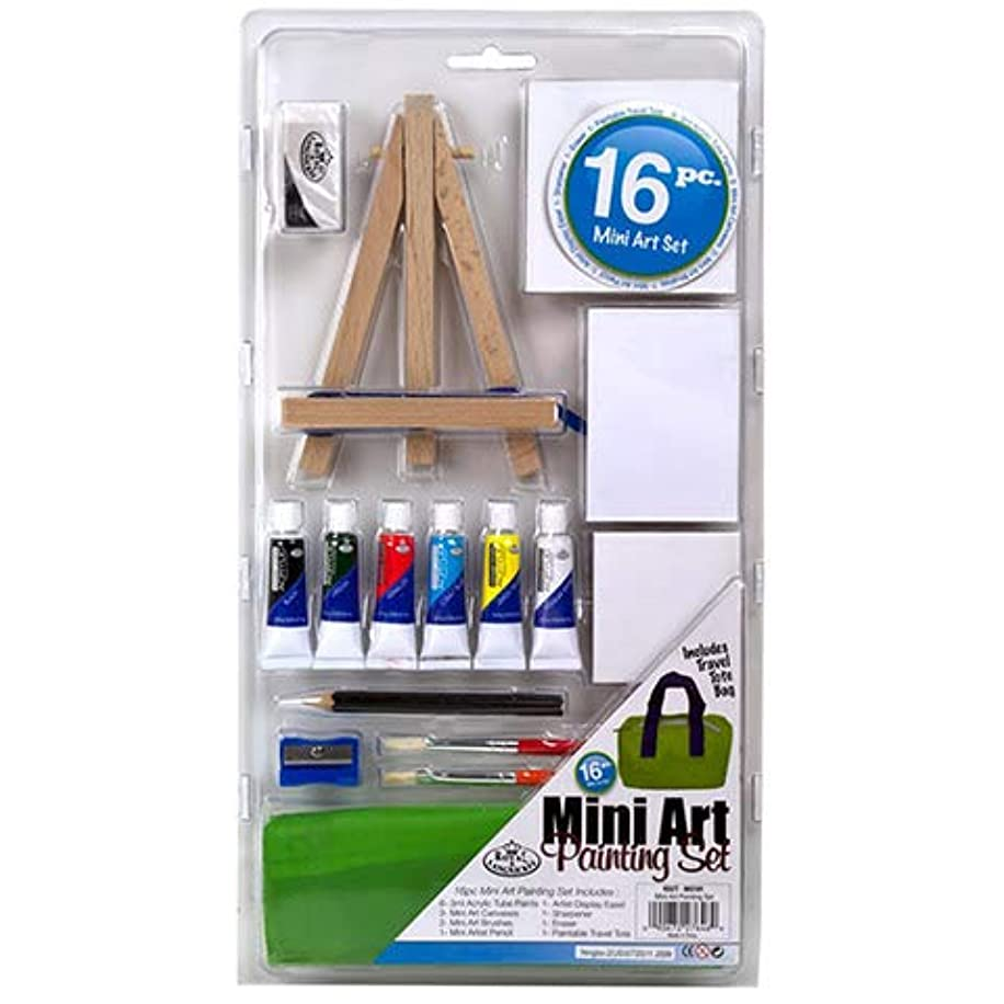 12 Piece Kids Canvas Painting Set - Arts and Crafts Gift Set Includes Canvases, Acrylic Paint, Kid Paint Brushes, Palette (1)