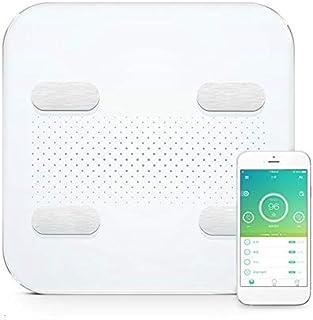 Básculas de baño Smart Bluetooth Body Fat Scale Smart App Fat Weight Scale Display Led Soporte De Carga Usb