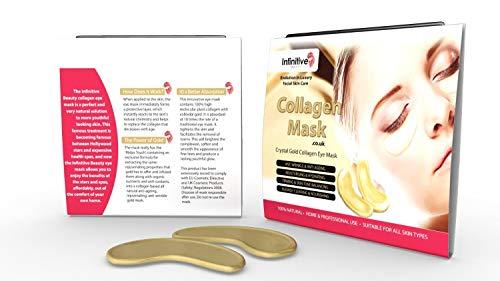 Infinite Beauty® collagene rilievi dell'occhio - L'idratante antirughe maschera per gli occhi contro le occhiaie e rughe Anti Aging (10)