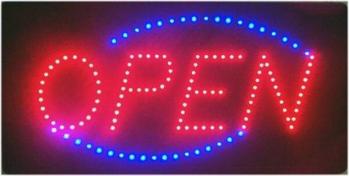 LED Leuchtreklame Schild, groß, leuchtstark