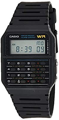 Casio Men's Vintage CA53W-1 Calculator Watch by Casio