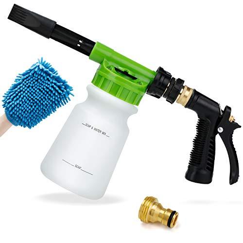 Ohuhu Car Wash Foam Gun for Garden Hose, Car Wash...