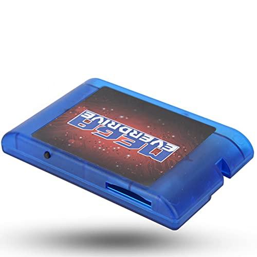 AMONIDA Tarjeta de Cartucho de Juego 4K OSV3.6 32GB SD MD Megadrive Genesis Mega Drive