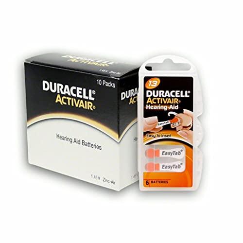 Hörgerätebatterien Duracell Activair 1 Pack á 6 Stück (Duracell Nr. 13)