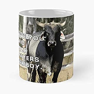 Rodeo Bucking Bull Cowboy Outback Australia - Funny Gifts For Men And Women Gift Coffee Mug Tea Cup White-11 Oz.
