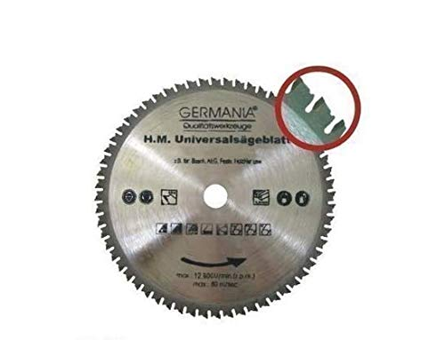 Multi Sägeblatt Kreissägeblatt Universalsägeblatt 210 x 30 mm 60 Zähne