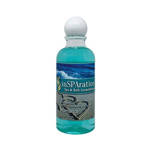 inSPAration Spa and Bath Aromatherapy 106X Spa Liquid, 9-Ounce, Romance