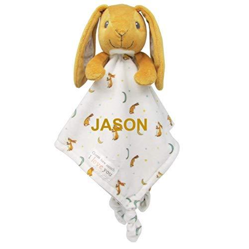N_G Ratet Mal, cuánto te quiero Amor, 14 pulgadas manta de conejo y peluche personalizado