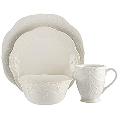 Lenox French Perle 4-Piece Place Setting, White