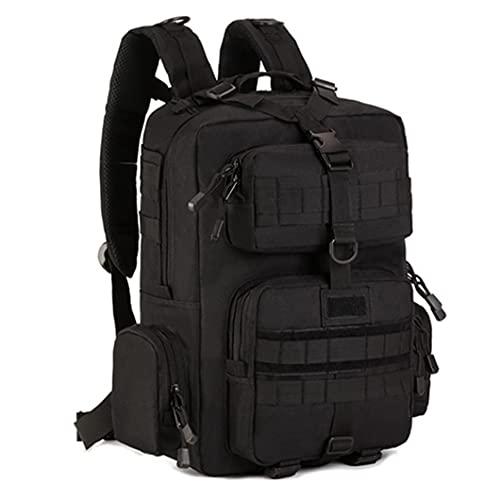 Militar ejército táctico mochila 14 pulgadas portátil mochila camping senderismo camuflaje bolsa negro otro
