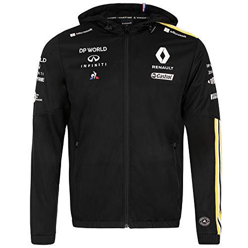 Renault F1 Team 2020 Sweatshirts und Jacken, offizielle Formel 1 Merchandise, Schwarze Team Regenjacke, Mens (XL) 112cm/44 inch Chest
