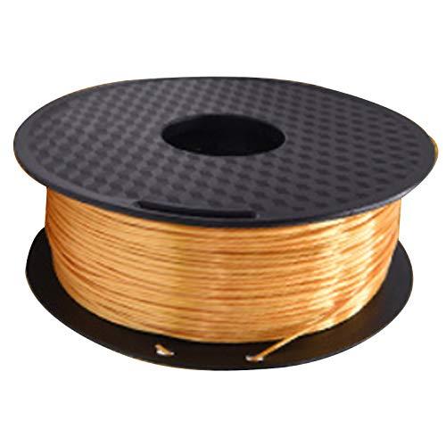 Nrpfell Consumibles de ImpresióN 3D Consumibles de Seda PLA 1.75Mm 1KG Consumibles de Seda de Alto Brillo de ImpresióN 3D