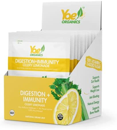 Yae Organic Celery Max 89% OFF Juice Powder and 35% OFF with for Digestion Lemonade