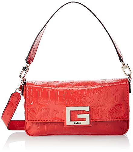 GUESS Brightside Shoulder Bag Poppy One Size