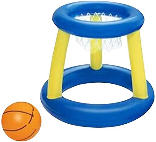 aimuzi Juguetes inflables de Verano de Verano, Conjunto de Voleibol de Piscina, Piscina de Red de Baloncesto de Voleibol Inflable, Flotador Flotante, Juguete de Agua Divertido de Verano,Type a