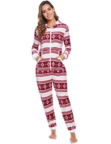 iClosam Conjunto De Pijamas De Navidad Estampados Suave EláStico Y Agradable
