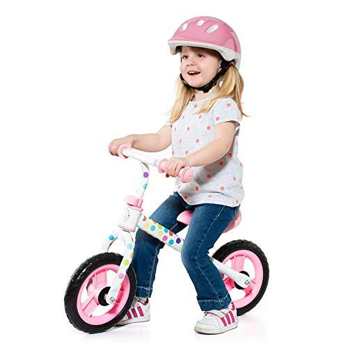 Bicicletta Senza Pedali da Bambino/a Minibike Molto - Senza Casco. Manubrio e Sedile Regolabile in...