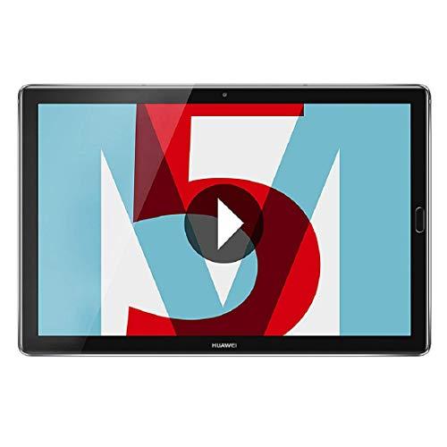 "Huawei MediaPad M5 LTE - Tablet de 10.8"" (WWAN, Wifi, LTE y Bluetooth, 32 GB ROM, 4 GB LPDDR4 RAM, Android 8.0, EMUI 8.0), plateado"