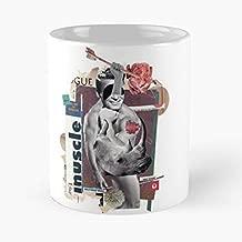 Collage Man Magazine Dadaist - Best Gift Ceramic Coffee Mugs 11 Oz