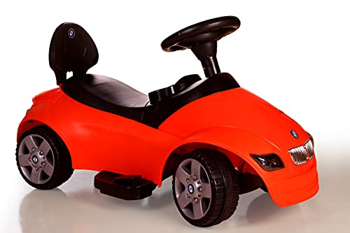 kidsROAR Ride On Car for Kids 1-5 Years Battery Operated Electric Magic Twister Car with Foot Accelerator (RED)