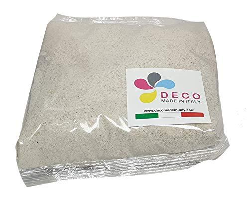 Deco Made in Italy Sable naturel coloré 0,5 Sac de 1 kg – Sable couleur naturelle, beige