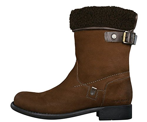 G-STAR Raw Voyage Franklin II dames leren boots - bruin