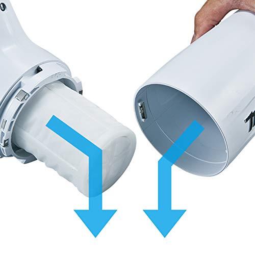 マキタ(Makita)充電式クリーナ10.8V4Ahバッテリ・充電器付CL108FDSMW