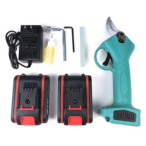 Cheap Hengyuanyi-Tools Light Cordless Shear 30mm Portable Electric Pruning Machine Handheld Pruning ...