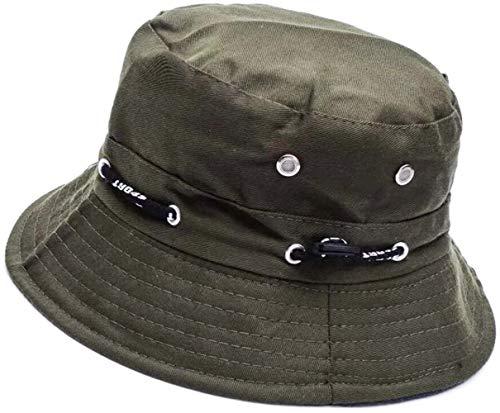 Sombrero de Pescador 56-58cm Algodón Suave y Tela de Poliéster Gorra de Sol Ancha a...