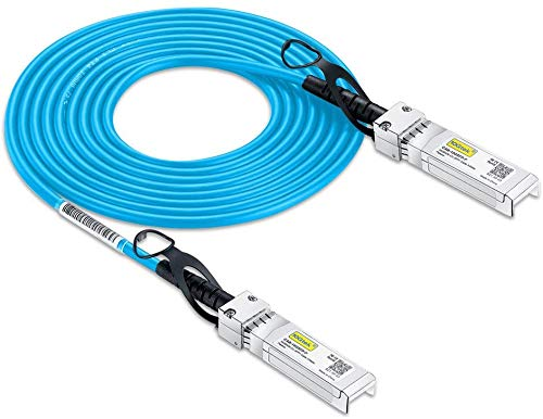 Cisco Kompatibel SFP-H10GB-CU3M SFP+ DAC, 10Gb/s SFP+ Twinax Direct Attach Copper (DAC) Kabel, Passiv, 3-Meter, Blaue Farbe, MEHRWEG
