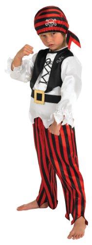 Rubies Déguisement Officiel - Pirate Raggy - pour garçon de 3 à 4 Ans - 104cm - Taille S