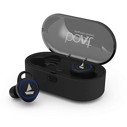 boAt Airdopes 311 True Wireless Earbuds (Bluetooth V5.0) with HD Sound and Sleek Design, Integrated Controls with in-Built mic and 500mAh Charging case (Active Black)