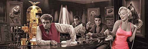Java Dreams 'Chris Holvrieka' Tür Poster,53 x 158 cm