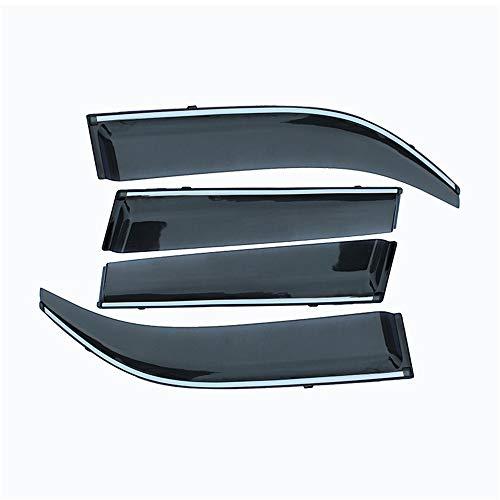 Deflector de Visera de Lluvia y Sol para Ventana de Humo ABS para Coche 4 Uds, para Chevrolet Malibu 2012 2013 2014 2015 Accesorios