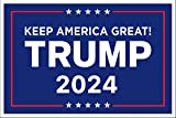 Donald Trump 2024 Just Released Kampagne Poster Schild