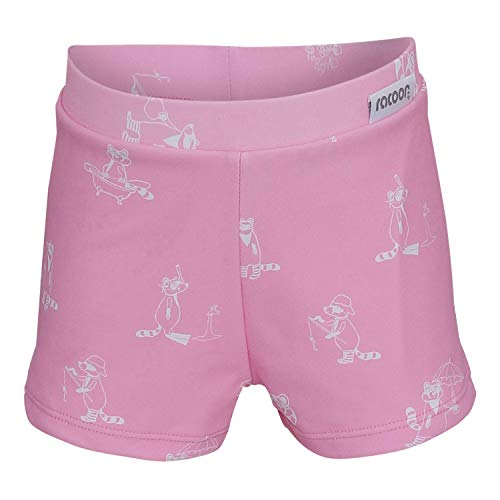 Racoon Girls Panties Arcadia Swim Briefs, PINK, 134-140