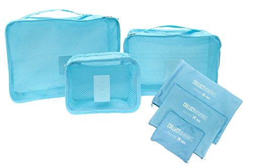 Organizador para Viagem, Océane, Azul Tiffany