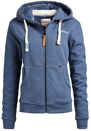 khujo Damen Sweatjacke FOLADE Little Hill