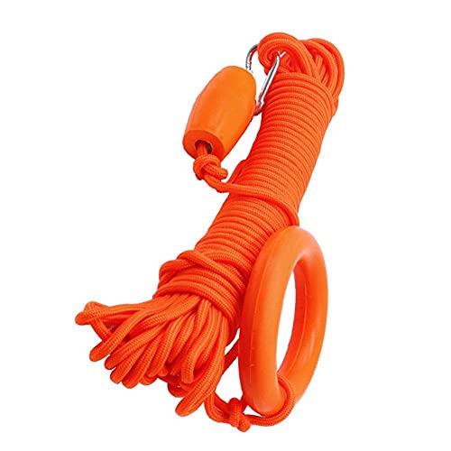 Rescate De Seguridad De Cuerda, La Cuerda Flotante Cuerda Salvavidas De Emergencia Multifunción con La Arandela De Retención