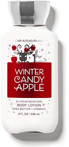 Bath and Body Works Body Care  Winter Candy Apple  24 Hour Moisture Body Lotion w/Shea Butter  Vitamin E  Full Size 8 fl oz