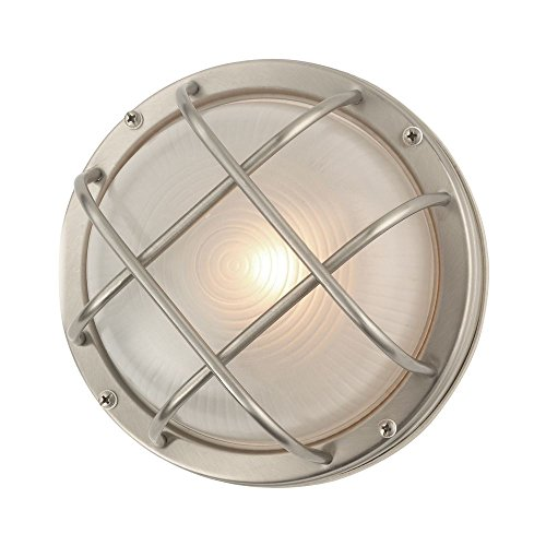 Design Classics Lighting Bulkhead Marine Outdoor Ceiling or Wall Light - 8-Inches Wide
