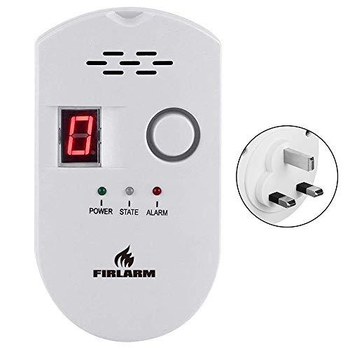Firlarm - Gas Detector LPG City Natural Gas Methane Propane...