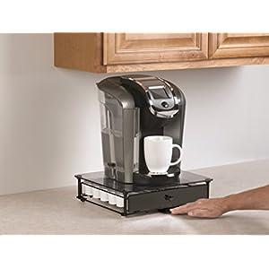 NIFTY 6471 K Cup Storage Drawer, Black