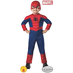 Rubies Marvel Ultimate Spider Man Costume Toddler As Shown