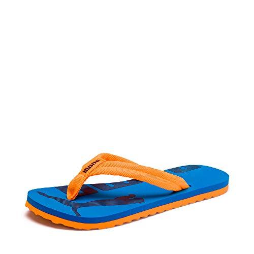 Puma Unisex-Kinder Epic Flip v2 Jr Zehentrenner, Orange (Orange Pop-Indigo Bunting 16), 37 EU