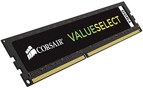 Corsair CMV4GX4M1A2133C15 Value Select 4GB (1x4GB) DDR4 2133Mhz CL15 Standard Desktop Memory Schwarz