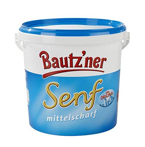 Bautzner Senf - mittelscharf - Bautz´ner classic Senfgewürz - Eimer a 10 kg - WF-EMSE060