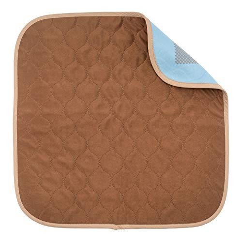 Sensalou Inkontinenz Stuhlauflage Sitzauflage wasserdicht waschbar 45x45 cm braun