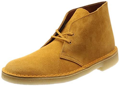 Clarks Originals Hombre Desert Boot Suede Tumeric Botas 46 EU